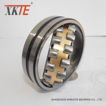 Brass cage spherical roller bearing 22210 CA/W33